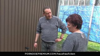 BBW Amateur German granny wife enjoys hardcore sex session