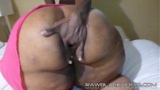 BBW anal fuck
