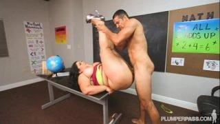 BBW Latina Karla Lane Gets Her Ass Fucked