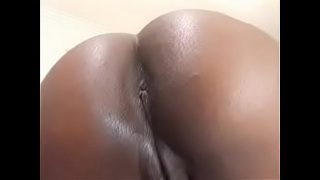 Beautiful ebony bbw having hardcore fuck in living room
