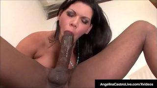 Bj Princess Angelina Castro Fucks Royal Black Cock