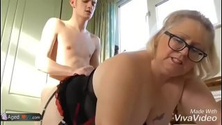 British Bbw Mature gives some lad the time of his life