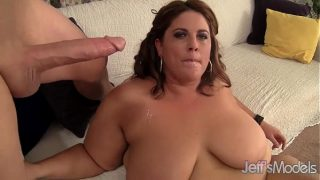 Fat and sexy BBW Erin Green gets her pussy stuffed with cock.