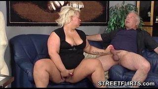 Fat BBW lady loves sex