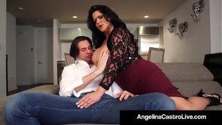 Latina Queen Angelina Castro & Roberta Gemma Fuck A Cock!