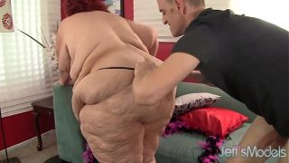 Super fat woman fucked hard by her new bf